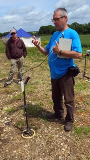 Paul explains Topsoil Magnetic Susceptibility