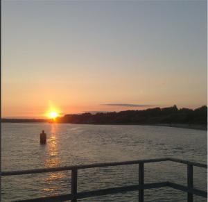 Hamworthy Pier +Sunset = Perfect